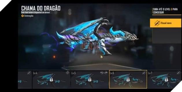 Free Fire: Mọi thứ về Blue Flame Dragon AK47 Evolution Series 8
