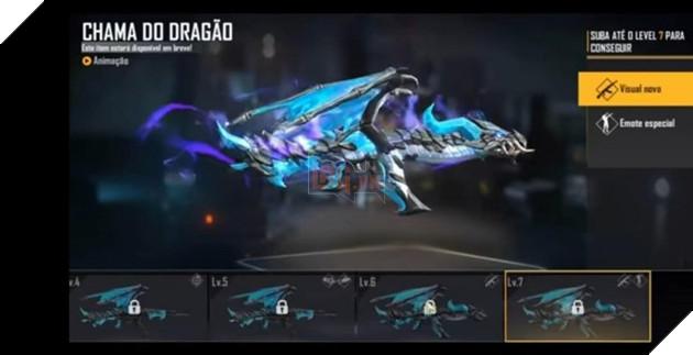 Free Fire: Mọi thứ về Blue Flame Dragon AK47 Evolution Series 9