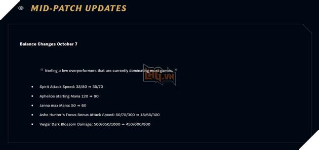 DTCL tung bản cập nhật 10.20b - Nerf gấp Aphelios, Linh Hồn và Veigar quá bá đạo 2