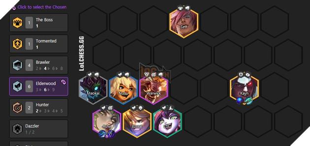 DTCL Mùa 4.5: Hướng dẫn đội hình Đấu Sĩ Thần Rừng/Ashe meta 11.1 rank Thách Đấu 2