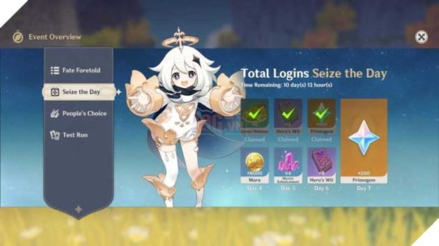 Tổng hợp những hoạt động giúp cho tân thủ của Genshin Impact có thể nhận quà hoàn toàn miễn phí 2