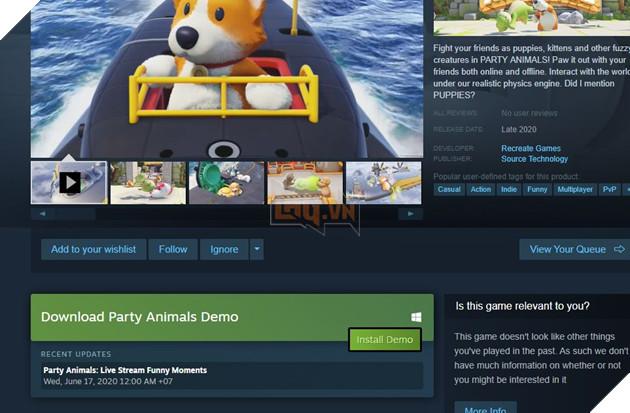 Hướng dẫn tải ngay Party Animals - Tựa game đánh đấm thú bông vui nhộn ai cũng nên thử 4