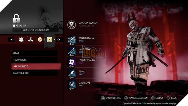 Ghost of Tsushima: Legends - Tìm hiểu về các lớp nhân vật 3