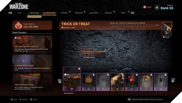 Call of Duty Warzone: Tổng hợp các địa điểm có hộp Trick or Treat và phần thưởng 3