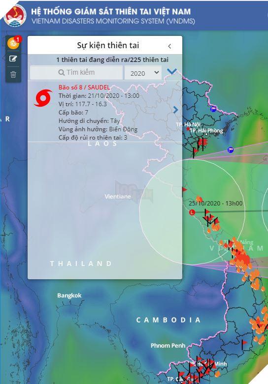 Hướng dẫn cách theo dõi tình trạng bão lũ và sạt lở tại miền Trung một cách nhanh chóng nhất 2