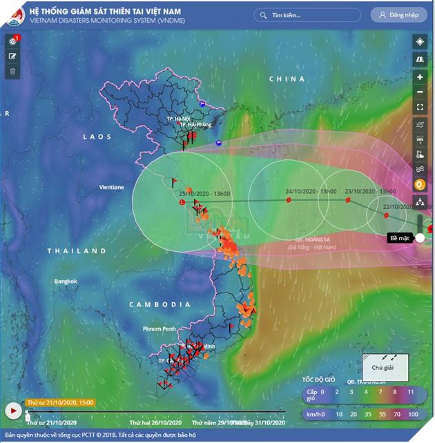 Hướng dẫn cách theo dõi tình trạng bão lũ và sạt lở tại miền Trung một cách nhanh chóng nhất