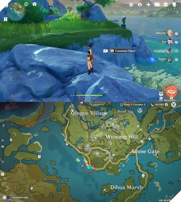 Genshin Impact: Tổng hợp những vị trí rương ẩn tại những địa điểm không ai ngờ đến P1  8