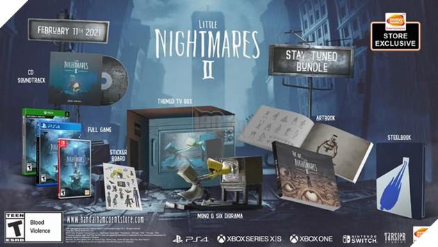 Little Nightmares 2 hé lộ trailer chào đón Halloween cùng gói sản phẩm đặc biệt 2