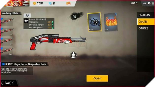 Free Fire: Top 4 vũ khí có tốc độ nạp đạn lại chậm nhất  3
