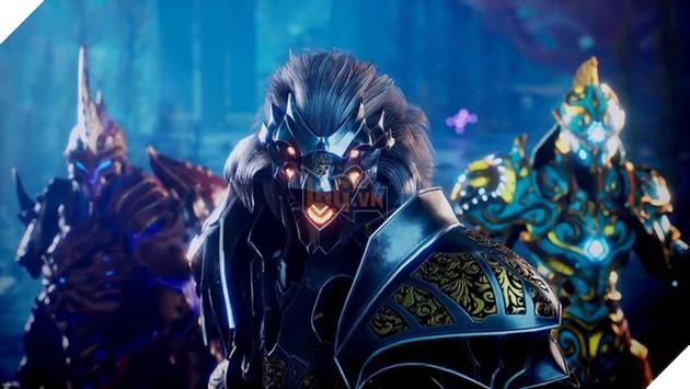 Godfall tung trailer hé lộ nhân vật tạo hình giống côn trùng - Vertigo Valorplate 2