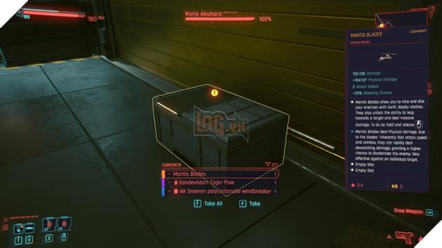 Cyberpunk 2077: Hướng dẫn sở hữu sớm hai món vũ khí khủng hoàn toàn miễn phí 2
