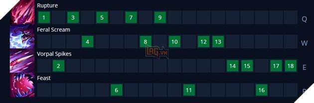LMHT: Hướng dẫn cách lên đồ mới và bảng ngọc Phép/Tank cho Cho'gath Mùa 11 17