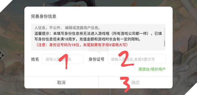 Hướng dẫn chi tiết cách Đăng Kí và Tải game Vân Mộng Tứ Thời Ca server Trung Quốc 6
