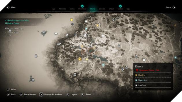 Assassin's Creed Valhalla: Toàn bộ địa điểm có Codex Page 3