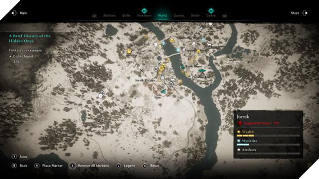 Assassin's Creed Valhalla: Toàn bộ địa điểm có Codex Page 5