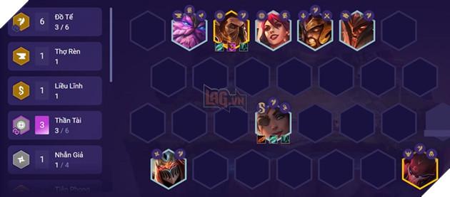 DTCL: Hướng dẫn Top đội hình 6 Thần Tài mạnh nhất bản cập nhật 11.8 mới nhất 2