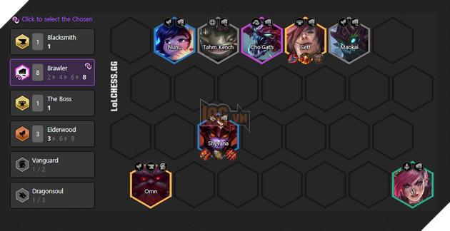 DTCL Mùa 4.5: Hướng dẫn đội hình Thần Rừng meta 11.8 mới nhất rank Thách Đấu 2
