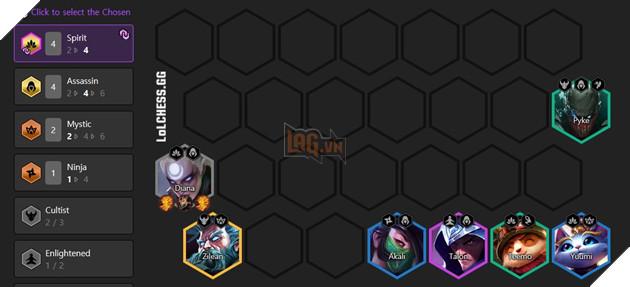 DTCL Mùa 4.5: Hướng dẫn Top đội hình Sát Thủ mạnh nhất bản 11.8 rank Thách Đấu 2