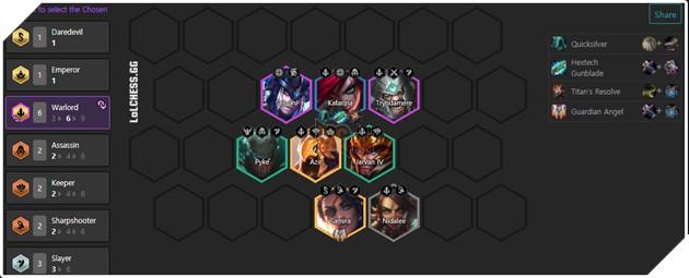 DTCL Mùa 4.5: Hướng dẫn Top 10 đội hình mạnh nhất Rank Cao Thủ bản 11.8 toàn thế giới 8