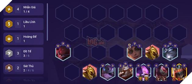 ĐTCL: Hướng dẫn xây dựng đội hình Nhẫn Giả Đồ Tể mạnh nhất mùa 4.5 6