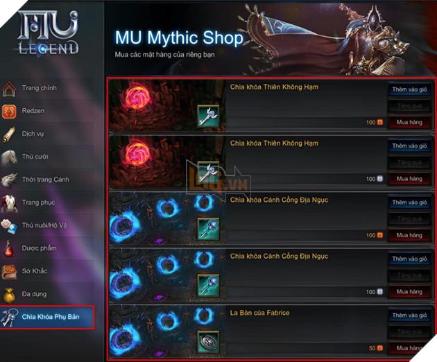 MU Mythic: Hướng dẫn cách tăng Lực Chiến nhanh nhất cho Tân thủ phải biết 15