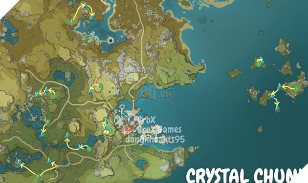 Genshin Impact: Hướng dẫn đường farm Thánh di vật, đá và Elite Boss toàn bản đồ bản 1.3 11