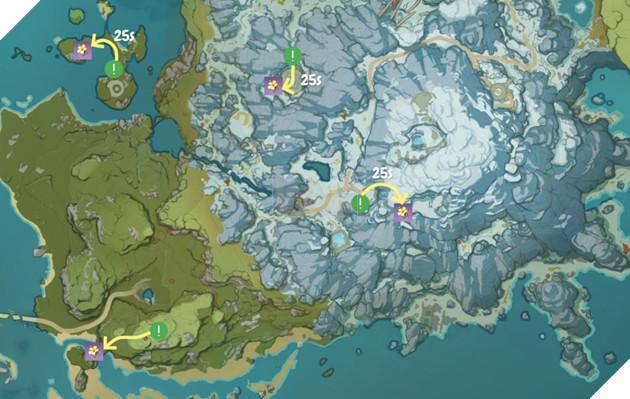 Genshin Impact: Hướng dẫn đường farm Thánh di vật, đá và Elite Boss toàn bản đồ bản 1.3 8