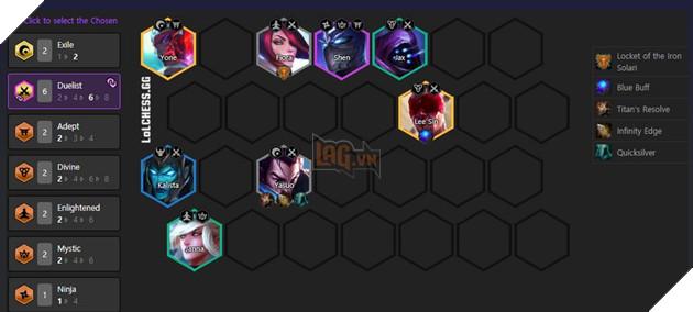 DTCL Mùa 4.5: Top đội hình Song Đấu mạnh nhất rank Thách Đấu bản 11.8 3