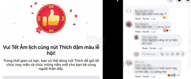 Hướng dẫn cách để có nút Like phiên bản Tết cực chất trên Facebook 2