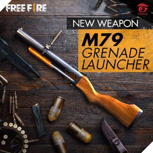 Top 5 skin M79 đẹp nhất trong Free Fire