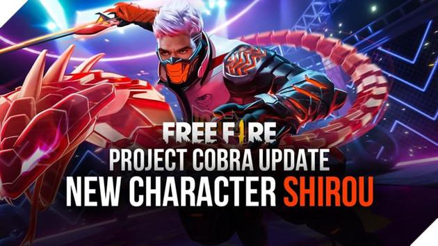 Đừng quên đăng nhập Free Fire vào ngày mai 27/2 để nhận nhân vật Shirou FREE
