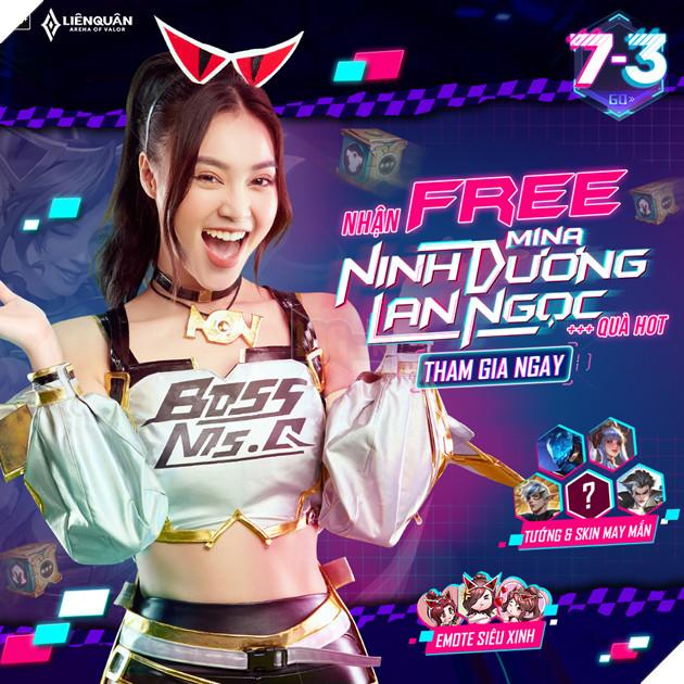 Liên quân Mobile bắt tay Ninh Dương Lan Ngọc, công bố skin mới siêu đỉnh 2