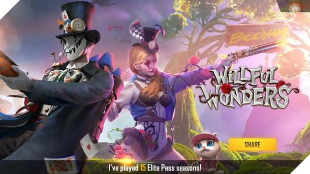 Free Fire: Hướng dẫn người chơi mới mua Elite Pass Season 34 Willful Wonders