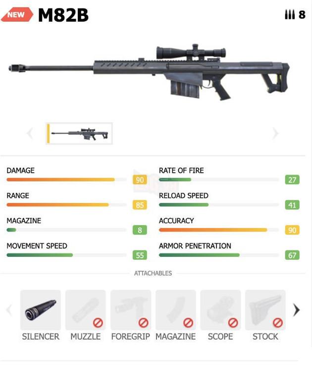 Free Fire: Top 4 vũ khí tốt nhất để kết hợp với kỹ năng của nhân vật Shirou mới 3