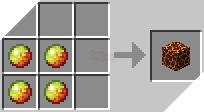 Cách chế tạo ra khối dung nham trong minecraft
