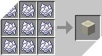 Cách chế tạo ra khối xương trong minecraft