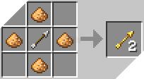 Cách chế tạo ra mũi tên ma quỷ trong minecraft