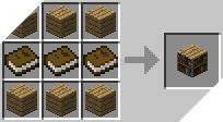 Cách chế tạo kệ sách trong minecraft