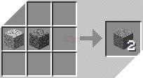 Cách chế tạo ra đá andesit trong minecraft