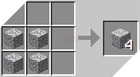 Cách chế tạo ra đá diorit được đánh bóng trong minecraft