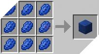 Cách chế tạo ra khối ngọc lưu ly trong minecraft