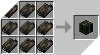 Cách chế tạo ra khối tảo bẹ khô trong minecraft