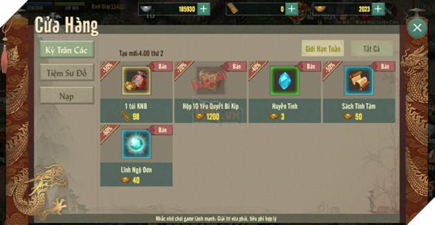 Một số mẹo hữu ích dành cho Tân thủ tham gia vào VLTK 1 Mobile  4