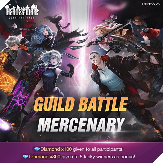 Hướng dẫn cách nhập và tổng hợp Giftcode Heroes War Counterattack mới nhất năm 2021 2