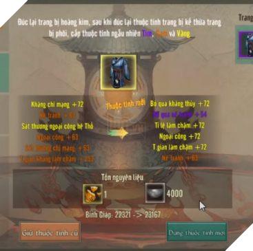 Hướng dẫn cách tìm và nâng cấp đồ Hoàng Kim trong VLTK 1 Mobile 5