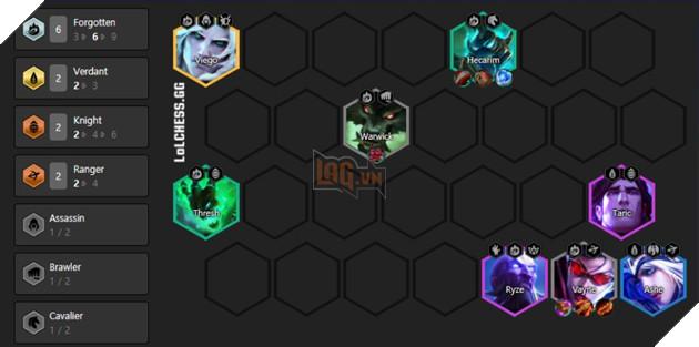 DTCL Mùa 5: Hướng dẫn Top 10 đội hình mạnh nhất Rank Cao Thủ theo meta toàn thế giới 3