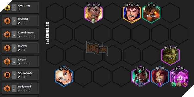 DTCL: Top đội hình Ma Pháp Sư mạnh nhất Mùa 5 Rank Kim Cương siêu sát thương phép  4