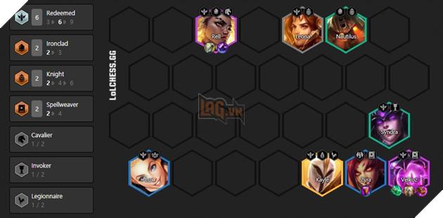 DTCL Mùa 5: Hướng dẫn Top 10 đội hình mạnh nhất Rank Cao Thủ theo meta toàn thế giới 4