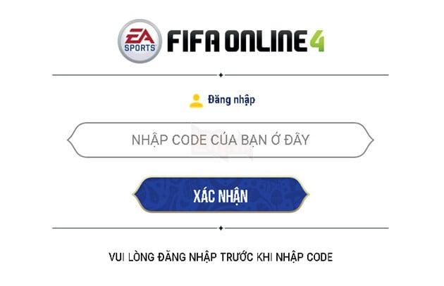 Hướng dẫn cách nhận và nhập Giftcode FIFA Online 4