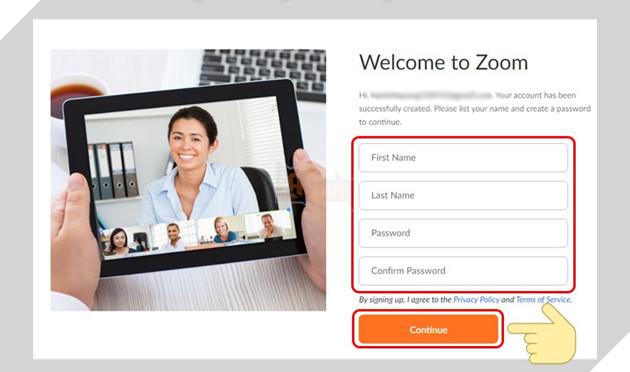 Nhập tên và mật khẩu